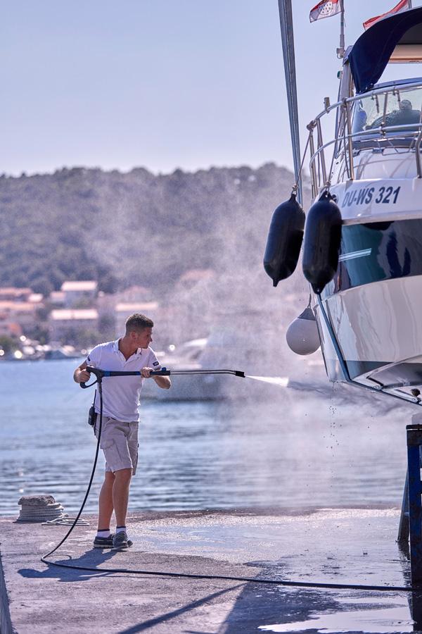 Rab, 08/2018 ACI marina Supetarska Draga foto: Davor Zunic / Fotofaktor.com